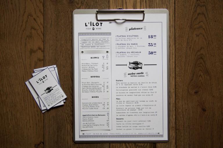 logo creation graphique freelance paris restaurants branding